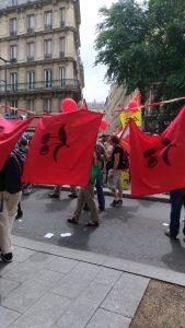 Le temps des cerises, manifestation à Paris