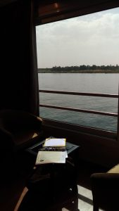 Ecrire sur le Nil