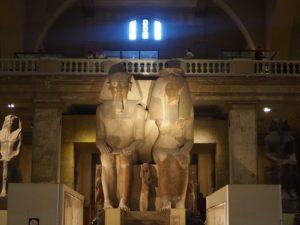 Statues au musée du Caire